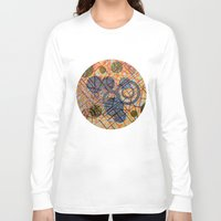 milan Long Sleeve T-shirts featuring bombing Milan by Federico Cortese