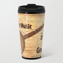 Banjo Music Travel Mug
