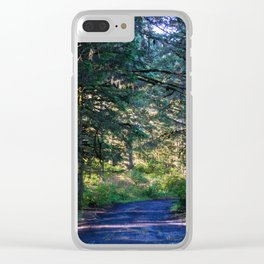 Nature Walk Clear iPhone Case