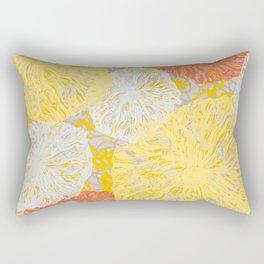 Birdseye Seedheads (yellow/orange) Rectangular Pillow