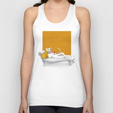 starting with a coffeebreak Unisex Tank Top