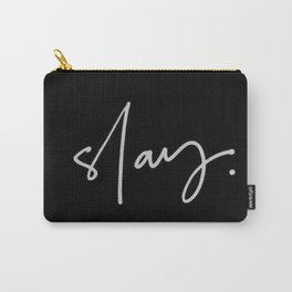Slay (black) Carry-All Pouch
