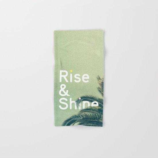 Rise & Shine Hand & Bath Towel