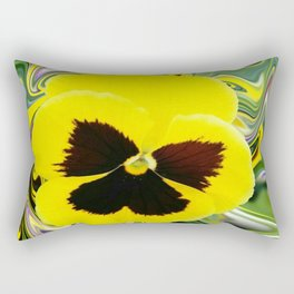 Solo Flower Rectangular Pillow