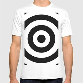 Target (Black & White Pattern) T-shirt