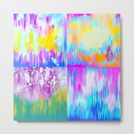 Abstract Art With Loads of Spirit Metal Print