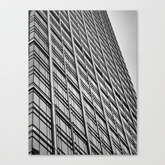 Skyscraper Abstract Canvas Print