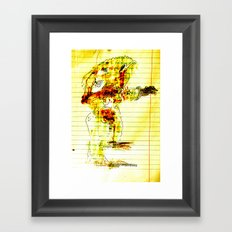 Reach-out Framed Art Print