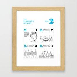 The Illuminated Mixtapes, Series 2 Framed Art Print