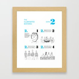 The Illuminated Mixtapes, Series 2 Framed Art Print