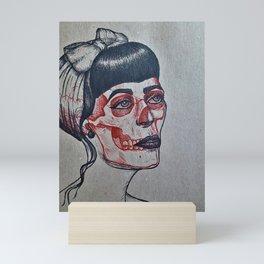 Rockabilly x-ray Mini Art Print