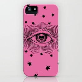Star Eye Print iPhone Case