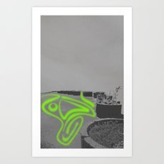 Endless Beds(1) Art Print