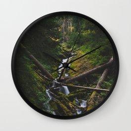 Cascades - Pacific Crest Trail, Washington Wall Clock