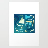 marine Art Prints featuring marine by Carlos Castro Perez