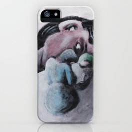 The observer iPhone Case