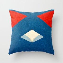 Lucha Libre Mask 3 Throw Pillow