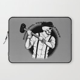 Blood, Toil, Tears, and Sweat Laptop Sleeve
