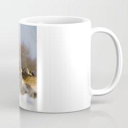 FALLOW DEER ON A WINTERS DAY Coffee Mug
