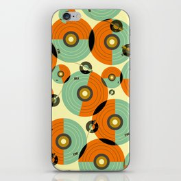 Turntables (Red) iPhone Skin