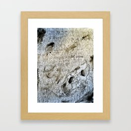 Core of the Lioness Framed Art Print