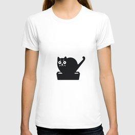 Surprised cat! T-shirt