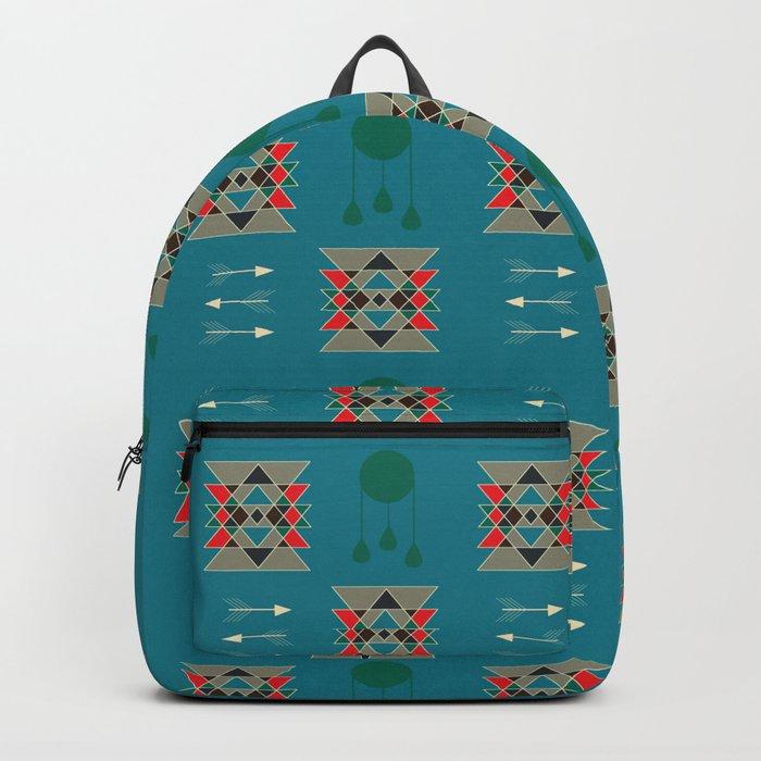 dreamcatcher blue Backpack