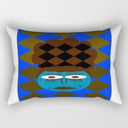 bbnyc's blue girl Rectangular Pillow