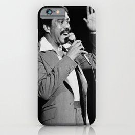 Richard Franklin Lennox Thomas Pryor - Stand-Up - Comedy - Black - Actor - Director - Hollywood 4 iPhone Case