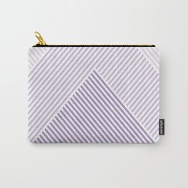 Shades of Purple Abstract geometric pattern Carry-All Pouch