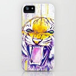 It Never Rains in Tiger Stadium  iPhone Case
