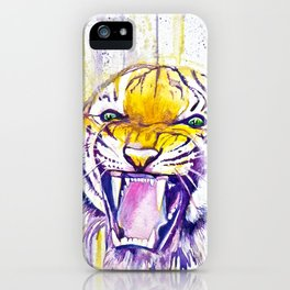 It Never Rains in Tiger Stadium  iPhone Case