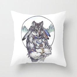 Spiritual shifting Throw Pillow