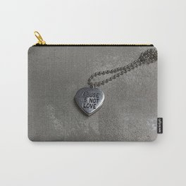 Abuse Is Not Love Carry-All Pouch