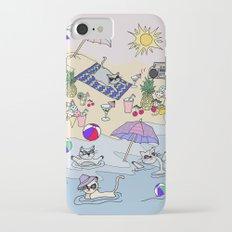 summer cats Slim Case iPhone 7