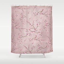SAKURA LOVE - BALLERINA BLUSH Shower Curtain