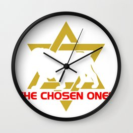 Star of david hebrew israelite yahwehs shirt Wall Clock