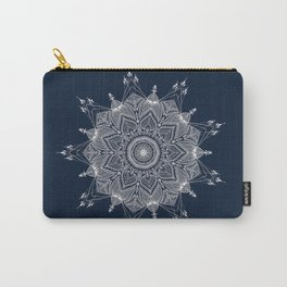 White Web Carry-All Pouch