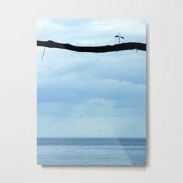 Branching Away Metal Print