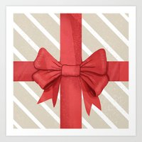 Special Delivery - Gift Wrapped Art Print