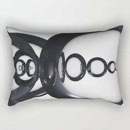 CropCirclesFive Rectangular Pillow