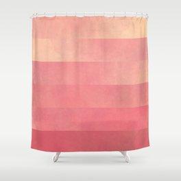Shimmerbrick Glow Shower Curtain