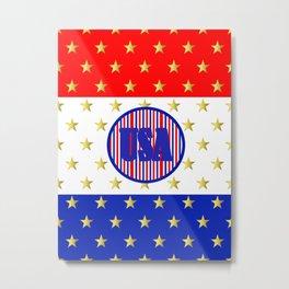 USA Stars And Stripes - United States Metal Print