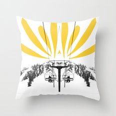 flower lift Throw Pillow
