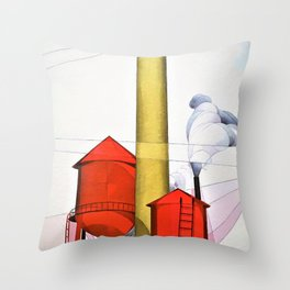 Buildings - Digital Remastered Edition Throw Pillow