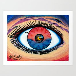 EyeSet Art Print