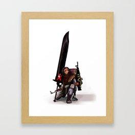 Modern Warrior Framed Art Print