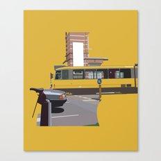 Yellow Tram Canvas Print