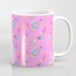 80s Confetti Party Coffee Mug