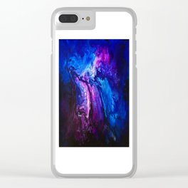 SPLASH OF COLOUR Clear iPhone Case